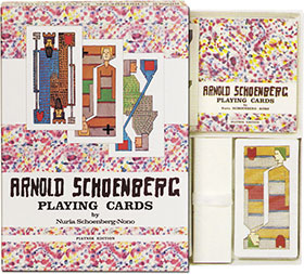Arnold Schoenberg Playing Cards Piatnik